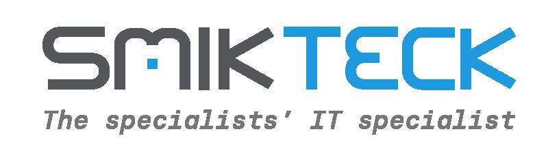 SmikTeck w.tagline - Logo_Colour
